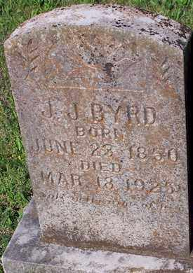 BYRD, J.J. - Baxter County, Arkansas | J.J. BYRD - Arkansas Gravestone Photos