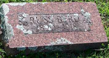 BYRD, RUSS - Baxter County, Arkansas | RUSS BYRD - Arkansas Gravestone Photos