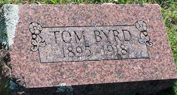 BYRD, TOM - Baxter County, Arkansas | TOM BYRD - Arkansas Gravestone Photos