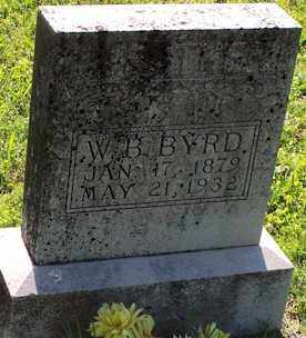 BYRD, W. B. - Baxter County, Arkansas | W. B. BYRD - Arkansas Gravestone Photos