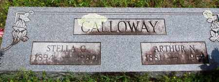 CALLOWAY, ARTHUR N - Baxter County, Arkansas | ARTHUR N CALLOWAY - Arkansas Gravestone Photos