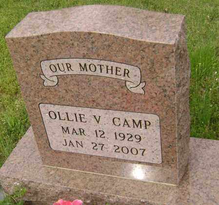 CAMP, OLLIE V. - Baxter County, Arkansas | OLLIE V. CAMP - Arkansas Gravestone Photos