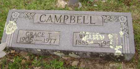 CAMPBELL, WILLIAM J. - Baxter County, Arkansas | WILLIAM J. CAMPBELL - Arkansas Gravestone Photos