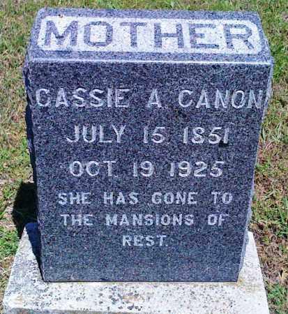 CANON, CASSIE A - Baxter County, Arkansas | CASSIE A CANON - Arkansas Gravestone Photos