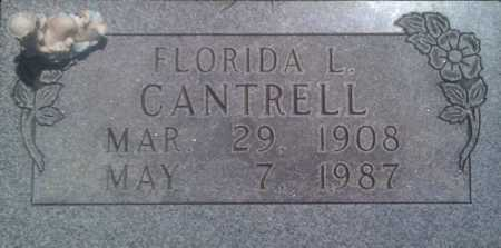 CANTRELL, FLORIDA L. - Baxter County, Arkansas | FLORIDA L. CANTRELL - Arkansas Gravestone Photos