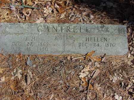CANTRELL, HELLEN - Baxter County, Arkansas | HELLEN CANTRELL - Arkansas Gravestone Photos