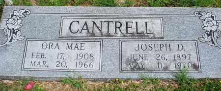 CANTRELL, ORA MAE - Baxter County, Arkansas | ORA MAE CANTRELL - Arkansas Gravestone Photos