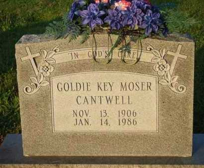KEY CANTWELL, GOLDIE - Baxter County, Arkansas | GOLDIE KEY CANTWELL - Arkansas Gravestone Photos