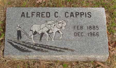 CAPPIS, ALFRED C - Baxter County, Arkansas | ALFRED C CAPPIS - Arkansas Gravestone Photos