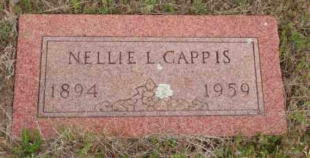 CAPPIS, NELLIE L - Baxter County, Arkansas | NELLIE L CAPPIS - Arkansas Gravestone Photos