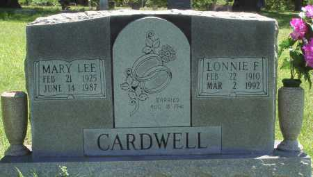 CARDWELL, LONNIE F. - Baxter County, Arkansas | LONNIE F. CARDWELL - Arkansas Gravestone Photos