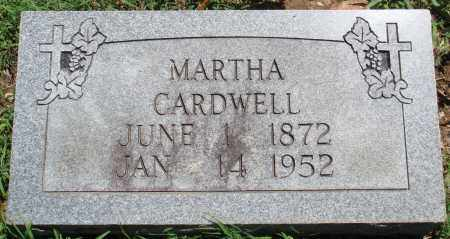 CARDWELL, MARTHA - Baxter County, Arkansas | MARTHA CARDWELL - Arkansas Gravestone Photos