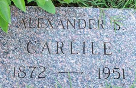 CARLILE, ALEXANDER S - Baxter County, Arkansas | ALEXANDER S CARLILE - Arkansas Gravestone Photos