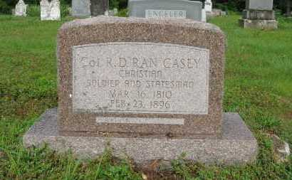 "CASEY (VETERAN CSA), COL. RANDOLF DEPRIEST ""RAN"" - Baxter County, Arkansas 