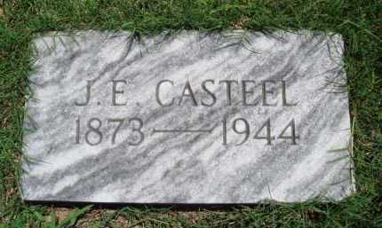 CASTEEL, J. E. - Baxter County, Arkansas | J. E. CASTEEL - Arkansas Gravestone Photos