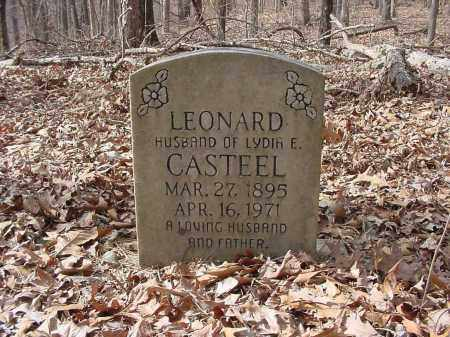 CASTEEL, LEONARD - Baxter County, Arkansas | LEONARD CASTEEL - Arkansas Gravestone Photos