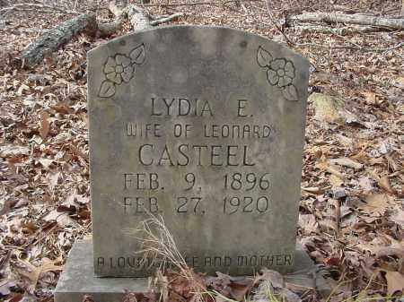 CASTEEL, LYDIA - Baxter County, Arkansas | LYDIA CASTEEL - Arkansas Gravestone Photos