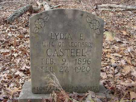CASTEEL, LYDIA - Baxter County, Arkansas | LYDIA CASTEEL - Arkansas Gravestone Photos