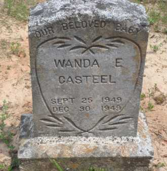 CASTEEL, WANDA E. - Baxter County, Arkansas | WANDA E. CASTEEL - Arkansas Gravestone Photos