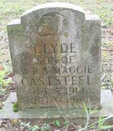 CASTSTEEL, CLYDE - Baxter County, Arkansas | CLYDE CASTSTEEL - Arkansas Gravestone Photos
