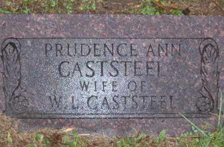 CASTSTEEL, PRUDENCE ANN - Baxter County, Arkansas | PRUDENCE ANN CASTSTEEL - Arkansas Gravestone Photos