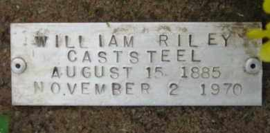 CASTSTEEL, WILLIAM RILEY - Baxter County, Arkansas | WILLIAM RILEY CASTSTEEL - Arkansas Gravestone Photos