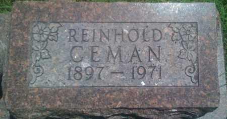 CEMAN, REINHOLD - Baxter County, Arkansas | REINHOLD CEMAN - Arkansas Gravestone Photos