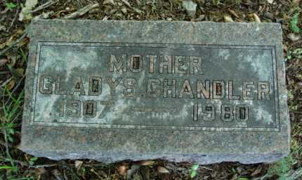 CHANDLER, GLADYS - Baxter County, Arkansas | GLADYS CHANDLER - Arkansas Gravestone Photos