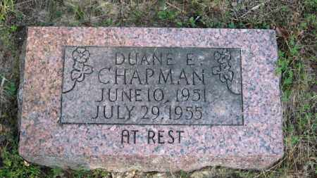 CHAPMAN, DUANE EARL - Baxter County, Arkansas | DUANE EARL CHAPMAN - Arkansas Gravestone Photos