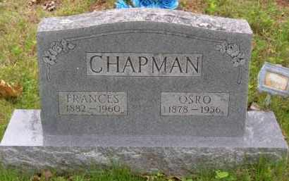 CHAPMAN, FRANCES ELIZABETH - Baxter County, Arkansas | FRANCES ELIZABETH CHAPMAN - Arkansas Gravestone Photos