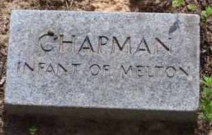 CHAPMAN, INFANT - Baxter County, Arkansas | INFANT CHAPMAN - Arkansas Gravestone Photos