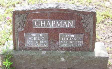 CHAPMAN, LUCIEN B. - Baxter County, Arkansas | LUCIEN B. CHAPMAN - Arkansas Gravestone Photos