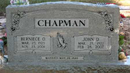 CHAPMAN (VETERAN WWII), JOHN D - Baxter County, Arkansas | JOHN D CHAPMAN (VETERAN WWII) - Arkansas Gravestone Photos