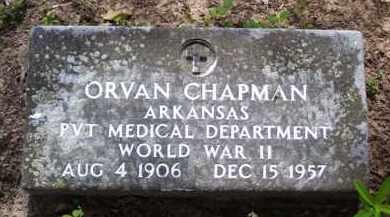 CHAPMAN (VETERAN WWII), ORVAN - Baxter County, Arkansas | ORVAN CHAPMAN (VETERAN WWII) - Arkansas Gravestone Photos
