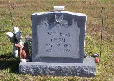 CHISM, PAUL DEAN - Baxter County, Arkansas | PAUL DEAN CHISM - Arkansas Gravestone Photos