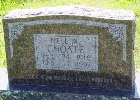 CHOATE, NELL M - Baxter County, Arkansas | NELL M CHOATE - Arkansas Gravestone Photos