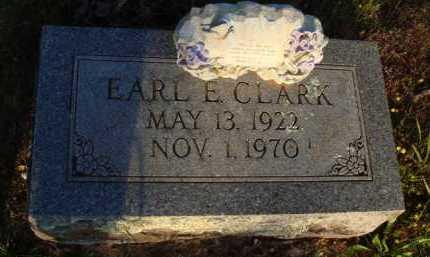 CLARK, EARL E. - Baxter County, Arkansas | EARL E. CLARK - Arkansas Gravestone Photos