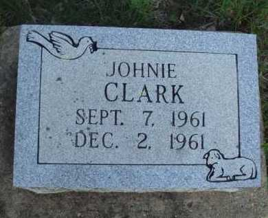 CLARK, JOHNIE - Baxter County, Arkansas | JOHNIE CLARK - Arkansas Gravestone Photos
