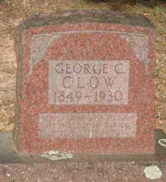 CLOW, GEORGE C. - Baxter County, Arkansas | GEORGE C. CLOW - Arkansas Gravestone Photos