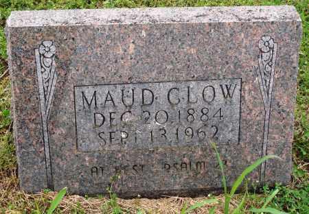 CLOW, MAUD - Baxter County, Arkansas | MAUD CLOW - Arkansas Gravestone Photos