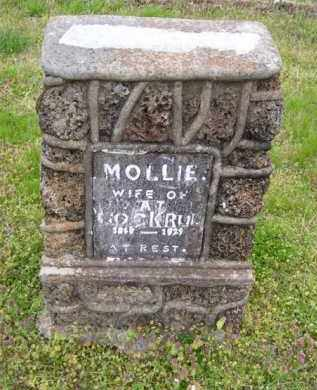 GAITHER COCKRUM (1), MOLLIE - Baxter County, Arkansas | MOLLIE GAITHER COCKRUM (1) - Arkansas Gravestone Photos