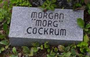 "COCKRUM, MORGAN ""MORG"" - Baxter County, Arkansas | MORGAN ""MORG"" COCKRUM - Arkansas Gravestone Photos"