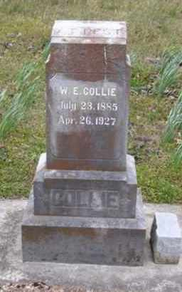 COLLIE, WILL E. - Baxter County, Arkansas | WILL E. COLLIE - Arkansas Gravestone Photos