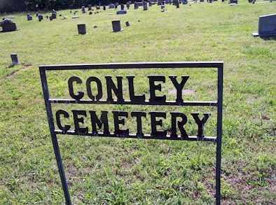 *, CONLEY CEMETERY SIGN - Baxter County, Arkansas | CONLEY CEMETERY SIGN * - Arkansas Gravestone Photos