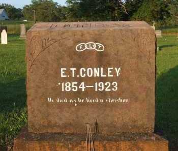 CONLEY, EVANDER  TATE - Baxter County, Arkansas | EVANDER  TATE CONLEY - Arkansas Gravestone Photos