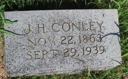 CONLEY, J. H. - Baxter County, Arkansas | J. H. CONLEY - Arkansas Gravestone Photos