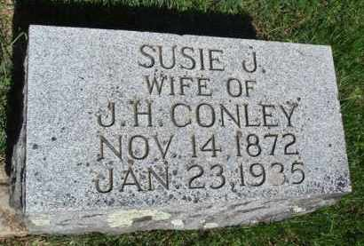 CONLEY, SUSIE J. - Baxter County, Arkansas | SUSIE J. CONLEY - Arkansas Gravestone Photos