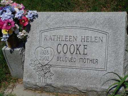 COOKE, KATHLEEN HELEN - Baxter County, Arkansas | KATHLEEN HELEN COOKE - Arkansas Gravestone Photos