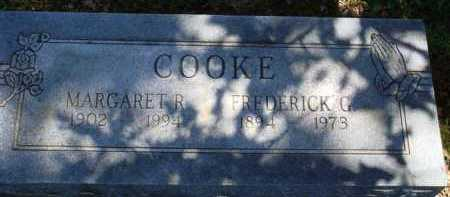 COOKE, FREDERICK G. - Baxter County, Arkansas | FREDERICK G. COOKE - Arkansas Gravestone Photos