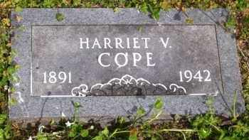 COPE, HARRIET V. - Baxter County, Arkansas | HARRIET V. COPE - Arkansas Gravestone Photos